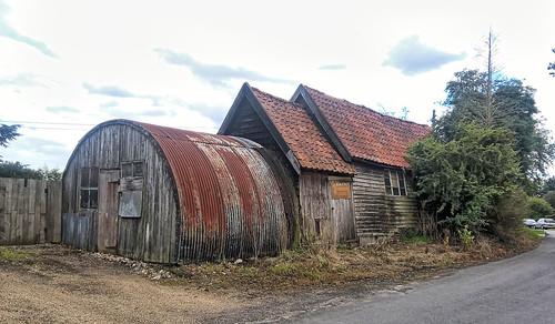 UK, Suffolk, an old Blacksmiths Workshop Redlingfield