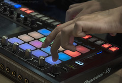 Pioneer Dj (Lyutik966) Tags: pioneerdj sampler toraiztsp16 music exhibition namm sokolniki moscow russia musicalinstrument arm finger regulator panel technology