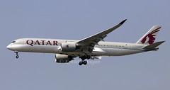 A7-ALJ (Ken Meegan) Tags: a7alj airbusa350941 0025 qatarairways bangkok suvarnabhumi 1322019 airbusa350 airbusa350900 airbus a350941 a350900 a350