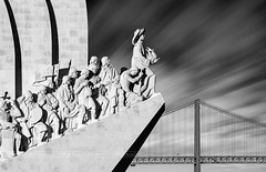 _DS20826 - Monument of the Discoveries (AlexDROP) Tags: 2019 portugal lisboa lisbon europe art travel architecture bw monument statue city bridge cityscape nikond750 best iconic famous mustsee picturesque postcard circpl