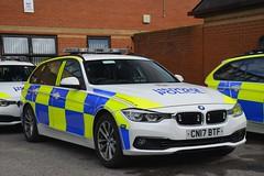 CN17 BTF (S11 AUN) Tags: gwent police heddlu bmw 330d estate touring anpr traffic car rpu roads policing unit 999 emergency vehicle cn17btf