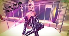 ♥ DANKE ♥ (ღѕcниυggι ναи ѕтαяღ) Tags: thanks maitreya body shiny latex baletts corset black truth bento catwa cloves tattoo blond 100 boots overknee