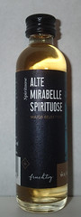 Alte Mirabelle spirituose (luc1102) Tags: bottle alcohol drink hobby collection miniature