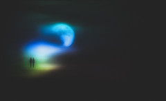 Night ... (Julie Greg) Tags: nature nautre night moon magic people art abstract colours canon