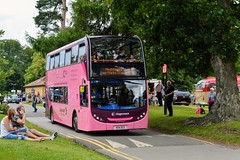 19063 404DCD (PD3.) Tags: adl enviro 400 19063 404dcd 404 dcd pink lady portsmouth bus buses psv pcv hampshire hants england uk alton anstey park mid railway watercressline water cress line preserved vintage 21 07 2019 july rally running day