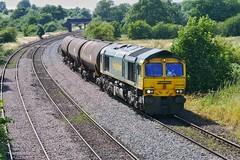 Inbound Ipswich (JohnGreyTurner) Tags: br rail uk railway train transport newbarnetby lincolnshire lincs 66 class66 shed fl freightliner tanks diesel engine locomotive