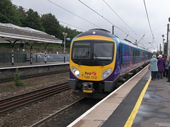 First TransPennine Express 185 112 (Ray's Photo Collection) Tags: first durham 185 185112 transpennine railway station train diesel transpennineexpress