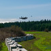 Two Growlers in the 24 March 2015 OLF Coupeville FCLP Pattern - Also Note the Eco-Blocks