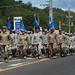 Team Andersen Airmen participate in the 75th Annual Guam Liberation Day Parade