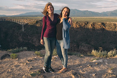 Casey and Kelly (M///S///H) Tags: 2019 rx1 afternoonlight casey desert dscrx1 friends fullframe girls kelly ladies newmexcio pointandshoot riograndegorge riograndegorgebridge sony sonyalpha sonyrx1 summer sunset taos women