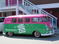 Hotel Zed (jamica1) Tags: kelowna okanagan bc british columbia canada hotel zed vw van microbus type 2 splittie