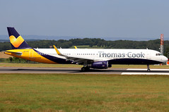 G-TCVA Airbus A321-231 (SL) (Bradley's Aviation Images) Tags: gtcva airbusa321231sl thomascook brs eggd bristolairport international