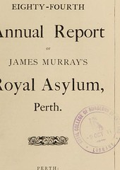This image is taken from The eighty-fourth annual report of James Murray's Royal Asylum, Perth (Medical Heritage Library, Inc.) Tags: james murrays royal asylum for lunatics hospitals psychiatric perthshire scotland wellcomelibrary ukmhl medicalheritagelibrary europeanlibraries date1911 idb30317307
