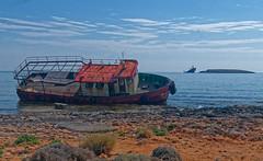 The two shipwrecks (KaterinaN.) Tags: island ship refugee greece shipwreck nika nordland peloponissos diakofti kythira kythera kithira