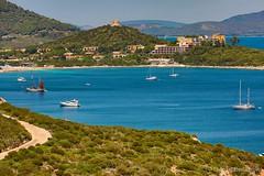 Fermarsi in un porto sicuro... (giobertaskin) Tags: canon blu portosicuro porto sea mare baia paesecatalano sardinia sardegna alguer alghero capocaccia portoconte