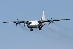 Antonov AN-12BP - CVK - UR-CBG - 1966 (French Frogs Pix ✈) Tags: avion aircraft plane cargo freighter aircargo antonov an12 cavokair russianaircraft aviacion