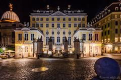 Coselpalais (Norbert Helbig) Tags: dresden nikon d7200 coselpalais europa europe germany deutschland saxony sachsen outdoor night nacht reise travel