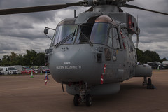 Westland EH-101 Merlin (Hawkeye2011) Tags: airshow riat raffairford uk 2019 aircraft aviation helicopters naval rn royalnavy fleetairarm westland eh101 merlin