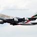 Emirates Airline A6-EUG Airbus A380-861 cn/219 Painted in