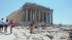 Going to the Parthenon (axelina2000) Tags: parthenon acropole greece athens temple