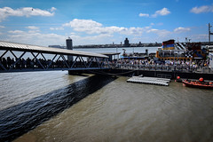 Boarding the Ferry on a Summer's Day (Bobbex) Tags: liverpool pierhead merseyside summer summertime britain england landscape wideangle tokina atx 116 pro dxii tokinaatx116prodxii