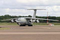 76683 IL-76MD Ukraine Air Force RAF Fairford 18.7.19 (Colin Cooke Photo) Tags: 76683 il76md ukraine air force raf fairford 18719