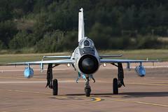 Mikoyan-Gurevich MIG-21MF Lancer C 6807 (Jon Hylands) Tags: c mf lancer mig21 mikoyangurevich canon photography eos force aircraft aviation military air jet airshow romanian aerospace fairford riat royalinternationalairtattoo 70d 6807