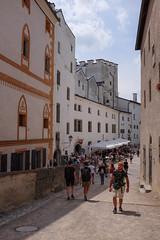 Fortress in Salzburg (timnutt) Tags: x100t people fortress österreich festung fort austria fuji city osterreichsalzburg x100 bavaria fujifilm osterreich