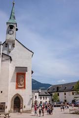 St Georgs Kirche (timnutt) Tags: people x100t chapel festung fortress österreich church fort austria fuji city osterreichsalzburg x100 bavaria fujifilm osterreich