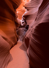 I had to live in the desert before I could understand the full value of grass in a green ditch… (ferpectshotz) Tags: slotcanyon lowerantelopecanyon page arizona erosion navajo sandstone canyonwalls geology flashfloods grandcanyonstate tour photography nature landscape desert fire flame
