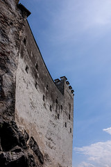 Fortress walls (timnutt) Tags: tall x100t sky x100 fortress österreich festung fort austria fuji city osterreichsalzburg wall bavaria fujifilm osterreich