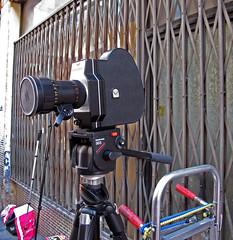 Cámara de filmar / Film Camera (Rafa Gallegos) Tags: antigüedades elrastro madrid españa spain cine cinema film antiguo vintage old cámara cámaradefilmar filmcamera