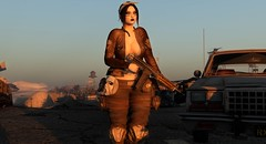 Surviving the Wasteland (*Mazon*) Tags: wasteland survival secondlife blackdragon maitreya catwa locktuft loading meva studiodire