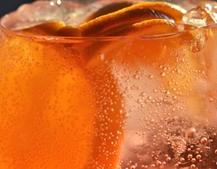 Tanqueray Flor de Sevilla & tonic (conall..) Tags: tanqueray flor de sevilla tanquerayflordesevilla gin tonic orange bubbles nikon afs nikkor f18g lens 50mm prime primelens nikonafsnikkorf18g closeup raynox dcr250 macro ice glass drink