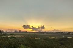"""""""Os céus manifestam a glória de Deus e o firmamento anuncia a obra das suas mãos."""" (Salmos 19.1)  #sunset #pôrdosol (jneydson) Tags: pôrdosol sunset"""