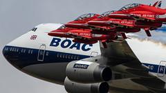 Red Arrows have a new Boss! (Steve Cooke-SRAviation) Tags: canonstevecooke airplane aeroplane warplanes airshow riat sraviation fairford redarrows jumbo boac jet 2019 mig boac747 display f16 2015 vulcan