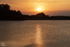 Upper Rivington Reservoir (jonathancoombes) Tags: sun sunset reservoir rivington lancashire nature wildlife explore water trees