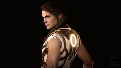 First Civilization (ilikedetectives) Tags: kassandra assassinscreed assassinscreedodyssey acodyssey acphotomode gaming gamecaptures game ingamephotography videogames virtualphotography portrait armor ubisoft ubisoftquebec screenshot