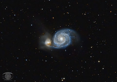 M51 - The Whirlpool Galaxy (Dark Arts Astrophotography) Tags: astrophotography astronomy space sky stars star science galaxy galaxies deepsky dso dsva night nature natur nightsky ngc whirlpool m51 kingston kingstonist ygk ontario astrometrydotnet:id=nova3505970 astrometrydotnet:status=solved