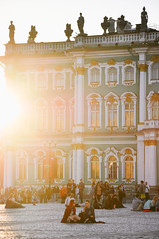 St Petersburg sunset (marin.tomic) Tags: russia russian sunset gold goldenhour stpetersburg hermitage travel europe nikon d90 traveling holiday vacation sightseeing