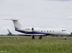 Cherry Road Leasing G450 N275M (birrlad) Tags: shannon snn international airport ireland aircraft aviation airplane airplanes bizjet private passenger jet taxi taxiway takeoff departing departure runway n275m gulfstream aerospace givx g450 glf4 cherry road leasing