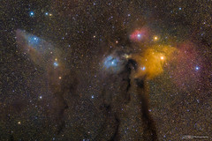 Antares and Blue Horsehead Nebula (tony.liu.photography) Tags: astro astrophotography deepsky dso space uinverse nebula stars night sky colour canon 77d 70mm tracked staradventurer asiair brisbane queensland australia