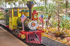 Ohana Express Engine - Pineapple Express Train Tour - Dole Plantation - Oahu, Hawaii (J.L. Ramsaur Photography) Tags: jlrphotography nikond7200 nikon d7200 photography photo oahuhi 25thanniversary honolulucounty hawaii 2019 engineerswithcameras islandsofhawaii photographyforgod hawaiianislands islandphotography screamofthephotographer ibeauty jlramsaurphotography photograph pic oahu tennesseephotographer oahuhawaii 25years anniversarytrip bucketlisttrip thegatheringplace 3rdlargesthawaiianisland 20thlargestislandintheunitedstates therainbowstate wahiawahi wahiawahawaii wahiawa theohanaexpress ohanaexpress hangzhoutrainsequipmentcoltd jamesdrummonddole doleplantation pineappleexpresstour pineappleexpress train railroad trainengine engineeringasart ofandbyengineers engineeringisart engineering americanflag usflag redwhiteblue oldglory patriotic patrioticproud americana america usa