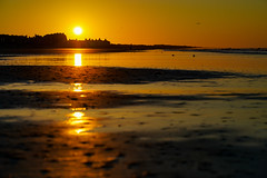 Beach (tarbet.tyler) Tags: 3 three sun sunset sunrise ocean beach nature landscape portrait heaven sony alpha colors blue yellow sand