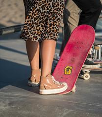 Skater Girl Fashion at Venice Beach Skatepark - Los Angeles, CA (ChrisGoldNY) Tags: chrisgoldphoto chrisgoldny chrisgoldberg bookcovers albumcovers licensing sonyalpha sonyimages sonya7rii venice venicebeach losangeles california socal cali westcoast usa america venicebeachskatepark venicebeachskateplaza skater skate skateboard skateboarding skatergirl badass girlpower girls skateboards skatepark californian leopardprint style fashion badassgirl cute beautiful woman women female skateboarder