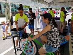 ITA_IDC_SHA_PedBikeSpinArtscape_072019_035 (Idle Time Ads) Tags: streetteam publicoutreach itapromotions idletimeadvertising maryland washington dc virginia artscape baltimore pedestriansafety bicyclesafety spinart mdot sha