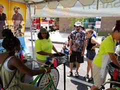 ITA_IDC_SHA_PedBikeSpinArtscape_072019_020 (Idle Time Ads) Tags: streetteam publicoutreach itapromotions idletimeadvertising maryland washington dc virginia artscape baltimore pedestriansafety bicyclesafety spinart mdot sha