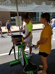 ITA_IDC_SHA_PedBikeSpinArtscape_072019_018 (Idle Time Ads) Tags: streetteam publicoutreach itapromotions idletimeadvertising maryland washington dc virginia artscape baltimore pedestriansafety bicyclesafety spinart mdot sha