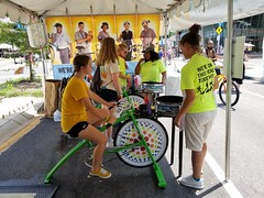 ITA_IDC_SHA_PedBikeSpinArtscape_072019_016 (Idle Time Ads) Tags: streetteam publicoutreach itapromotions idletimeadvertising maryland washington dc virginia artscape baltimore pedestriansafety bicyclesafety spinart mdot sha