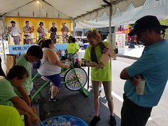 ITA_IDC_SHA_PedBikeSpinArtscape_072019_007 (Idle Time Ads) Tags: streetteam publicoutreach itapromotions idletimeadvertising maryland washington dc virginia artscape baltimore pedestriansafety bicyclesafety spinart mdot sha